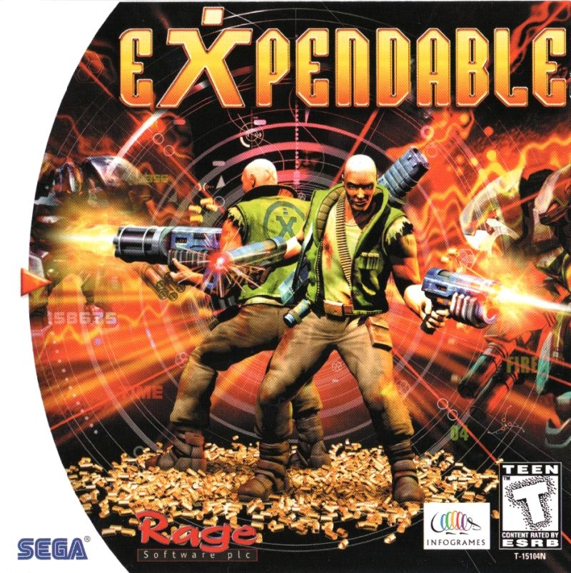 Expendable – Sega Dreamcast